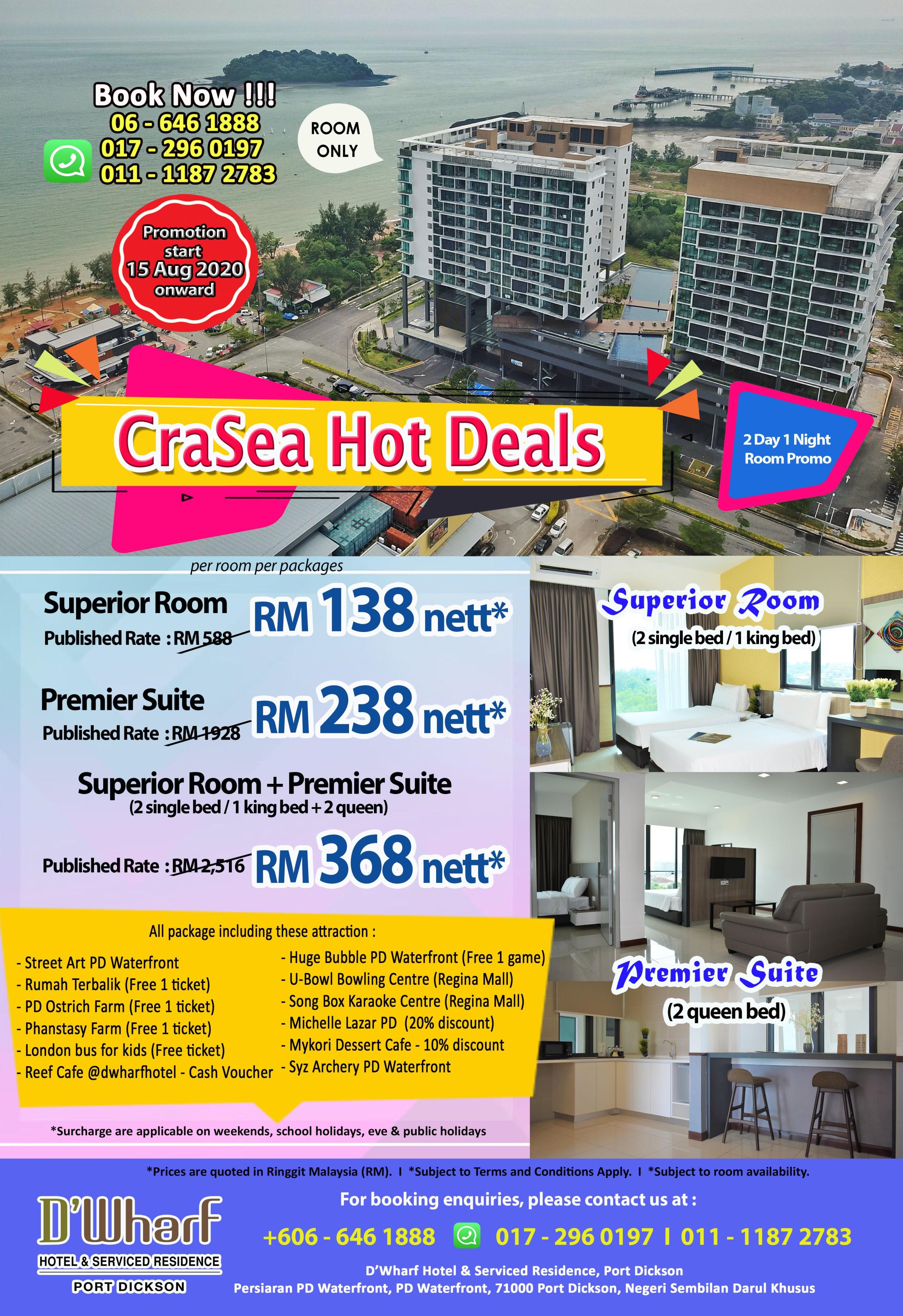 CraSea Hot Deals Promotion 15082020