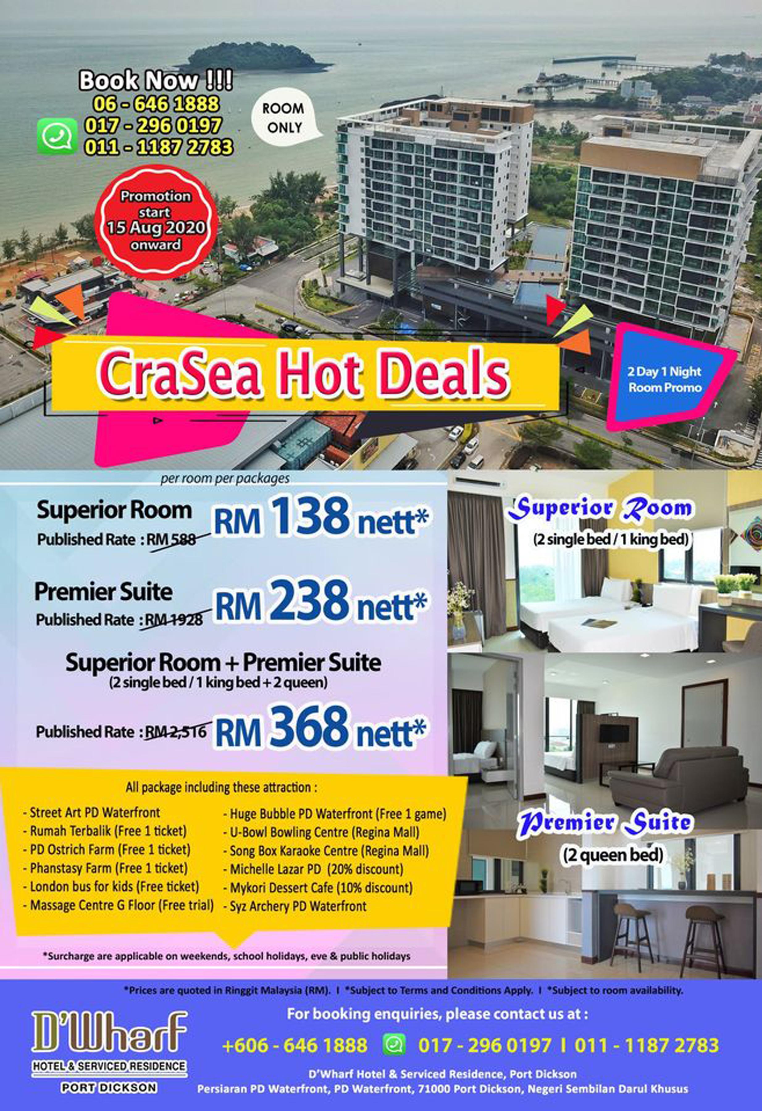 CraSea Hot Deals Promotion 12092020