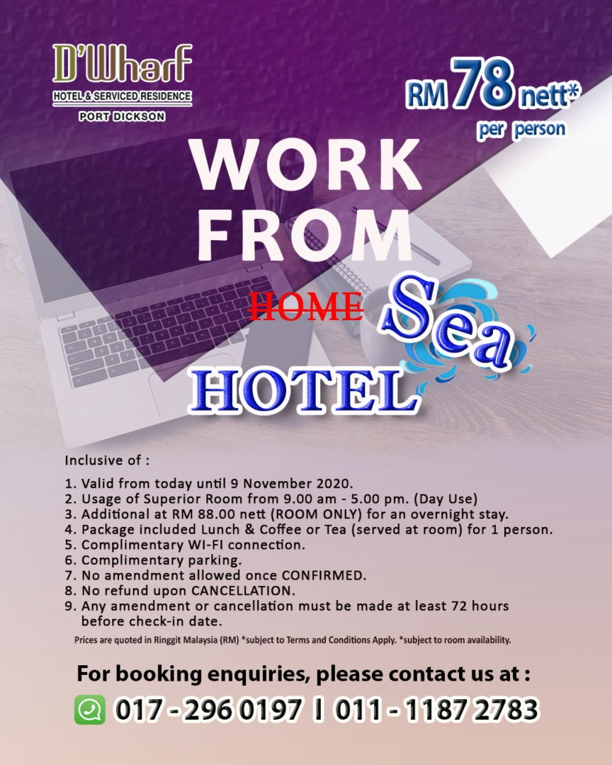 Work from Sea Hotel_Web