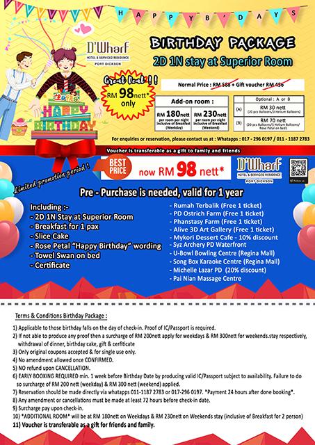 Birthday Package Web